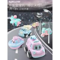 儿童玩具小汽车模型套装男孩4惯性宝宝小工程车飞机1-2-3-6周岁半