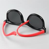 大童偏光防紫外线箭头儿童太阳眼镜个性软硅胶男童女童墨镜