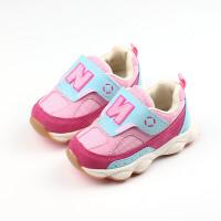 宝宝鞋2018春秋1-3岁儿童透气学步鞋男童软底运动鞋女童鞋子2