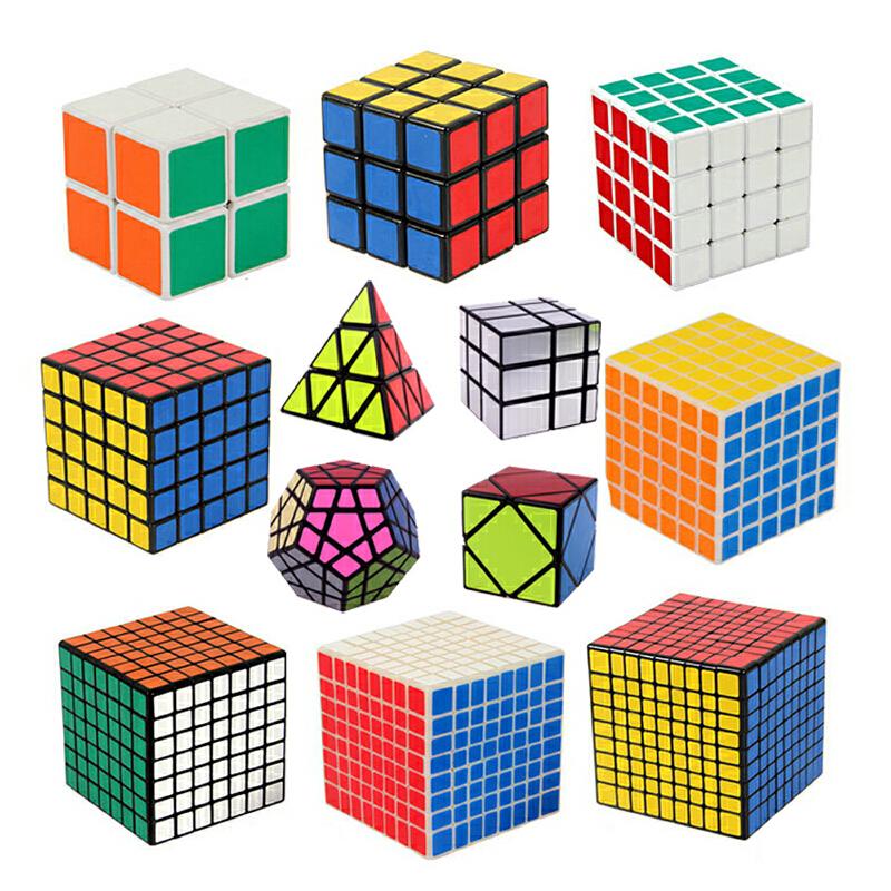 圣手三阶魔方入门选择二阶四阶五阶六阶七阶组合套装异形五魔方斜转金字塔SQ1八轴三阶镜面魔方大套装送秘籍