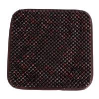 汽车坐垫单片 透气夏季椅垫凉垫 香樟木珠垫通用