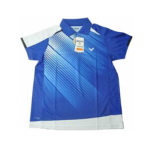 VICTOR/胜利 速干透气 比赛服 羽毛球服 男款短袖T恤S-2703