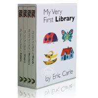 现货 英文原版 My Very First Library 我的第一个图书馆 套装 艾瑞 卡尔爷爷 0-2岁启蒙