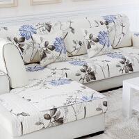 沙发垫简约现代布艺秋冬沙发套四季防滑坐垫通用皮沙发垫k