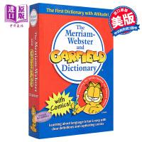 【中商原版】麦林韦氏和加菲猫词典(趣味记单词) 英文原版 The Merriam-Webster and Garfie