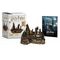 哈利波特霍格沃茨城堡摆件和贴纸书 可亮灯!英文原版 Harry Potter Hogwarts Castle and
