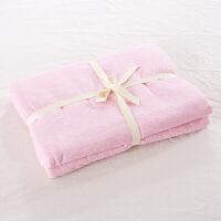 日式良品床笠单件针织天竺棉床单 被单床罩棕垫保套定制