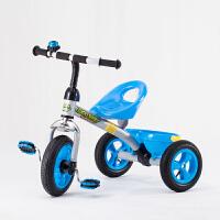 儿童三轮车脚踏车儿童三轮车3-4-5-6岁宝宝童车玩具车脚踏车免充气小孩自行车LYZT50