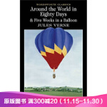 八十天环游地球 英文原版小说 Around the World in Eighty Days: 5,Jules Ver