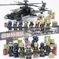 兼容乐高拼装飞机玩具男孩子军事积木绝地求生吃鸡刺激战场基地
