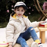 棉衣儿童羽绒宝宝男童女童秋冬装加厚保暖短款外套