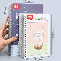 晨光智简 笔记本 记事本 一包5本装 单线圈本/软面抄本 小清新 A5/B5记事本 学习办公用品
