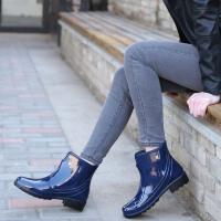 时尚雨鞋女短筒雨靴成人水靴防水鞋女款夏季套鞋胶鞋防滑水鞋