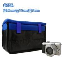 微单单反相机内胆包 可放休闲包双肩背包摄影器材收纳袋 超厚