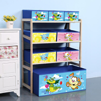 实木玩具架玩具收纳架储物架整理架懒角落儿童玩具柜家用玩具收纳