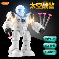 B+BG ENSWEET 智能电动太空战警 机器人玩具