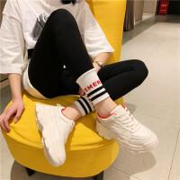 真皮小白鞋女2019新款厚底老爹鞋运动鞋休闲单鞋街拍潮流欧美女鞋
