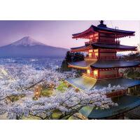 拼图拼图玩具2000片 日本富士山风景