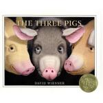 The Three Pigs 三只小猪 英文原版,David Wiesner(大卫・威斯纳),Houghton Mif
