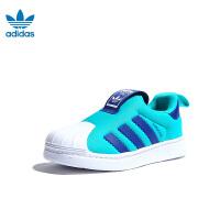 【到手价:329元】阿迪达斯adidas童鞋新款婴幼童学步鞋宝宝鞋SUPERSTAR 360 I运动鞋 (0-4岁可选