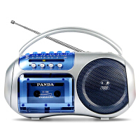 PANDA/熊猫 F-138小学生复读机录音可放磁带英语学习教学用学生用初中生听力播放机器单放机正品便携式随身听