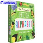 英文原版 Mrs. Peanuckle's Bug Alphabet 彼勒芙夫人的虫子字母表 儿童启蒙认知书