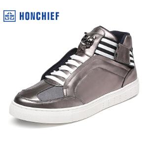 红蜻蜓旗下品牌 HONCHIEF  男鞋休闲鞋秋冬鞋子男板鞋KTA1228
