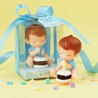 儿童生日派对用品 生日蜡烛 宝宝许愿工艺蜡烛 男女款 创意礼物