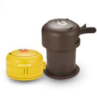 九阳便携式烧水壶K06-Z2 line布朗熊电热水壶折叠热水壶学生旅行开水壶