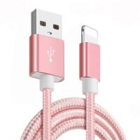 苹果安卓数据线vivo手机通用充电线oppo快充红小米加长