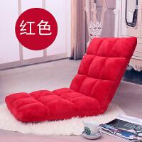 沙发榻榻米可折叠单人小沙发床上电脑椅宿舍飘窗日式靠背椅k