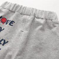 儿童休闲裤 春秋季宝宝裤子 男童女童针织长裤 童装运动裤