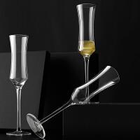 小蛮腰水晶香槟杯子气泡酒杯甜酒杯高脚杯鸡尾酒杯红酒杯套装家用