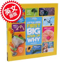现货 英文原版 National Geographic Little Kids First Big Book of W