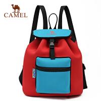 camel骆驼户外双肩休闲背包 男女徒步旅游休闲背包