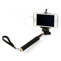 K4103便携式可伸缩手机照相机自拍杆 带线