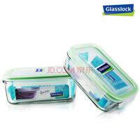 GLASS LOCK 三光云彩 SGYC11韩国进口玻璃 可微波饭盒便当盒锁扣-RP519