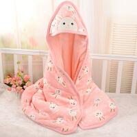 秋冬季宝宝用品抱毯小被子初生婴儿抱被春秋加厚款外出新生儿包被