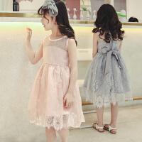 女童连衣裙夏装儿童公主裙大童装女孩蓬蓬纱裙子