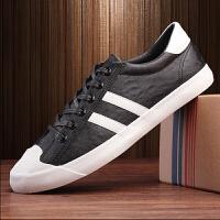 新款运动休闲鞋低帮系带板鞋韩版潮流小白鞋男鞋