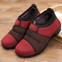 冬季中老年鞋子女棉鞋老北京布鞋女加厚软底妈妈鞋防滑保暖奶奶鞋