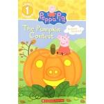 英文原版 The Pumpkin Contest 南瓜大赛 小猪佩奇 学乐英文分级读物 含贴纸 附赠精美手链