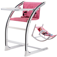 儿童餐椅宝宝座椅多功能成长婴儿座椅 宝宝吃饭桌便捷摇椅YW55