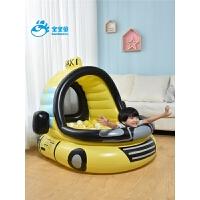 家用加厚宝宝玩具海洋球出租车波波池婴幼儿童充气球池
