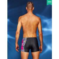 男士泳裤平角泳衣专业速干大码温泉沙滩时尚新款防尴尬游泳裤