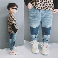 男童牛仔裤儿童裤子宝宝中童童裤春秋休闲