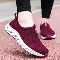 老北京布鞋女夏季透气网面妈妈运动鞋软底防滑老人鞋中老年健步鞋