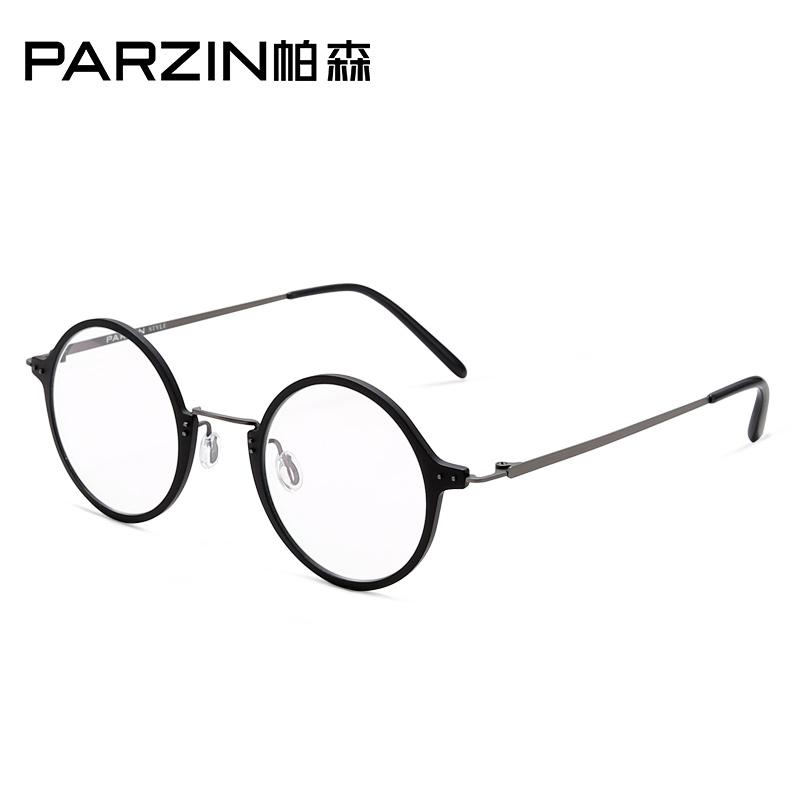 帕森眼镜架 男女款复古圆框 金属眼镜框可配近视眼镜157002满198减20;299减30。浓情二月 hold我所爱
