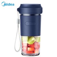 美的榨汁�C便�y式家用小型��诱ブ�杯多功能水果料理�C迷你果汁�C