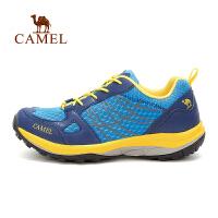camel骆驼户外男款徒步鞋 防滑减震耐磨低帮徒步鞋